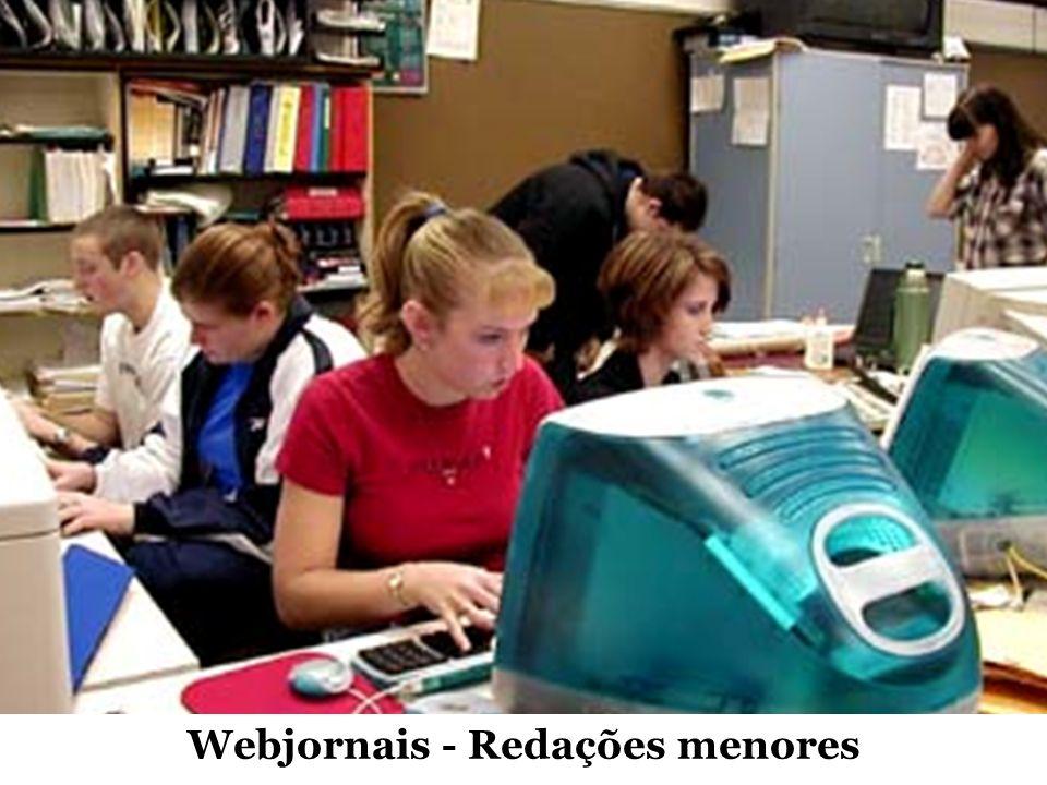 Webjornais - Redações menores