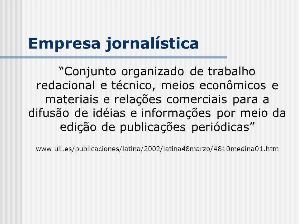 Empresa jornalística