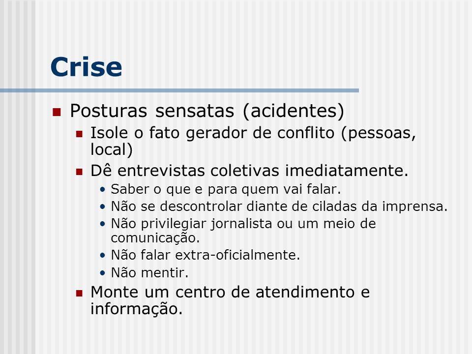 Crise Posturas sensatas (acidentes)