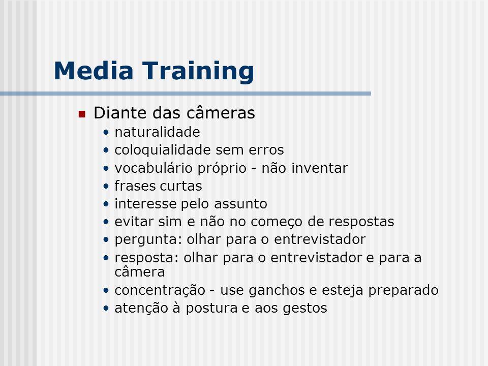 Media Training Diante das câmeras naturalidade