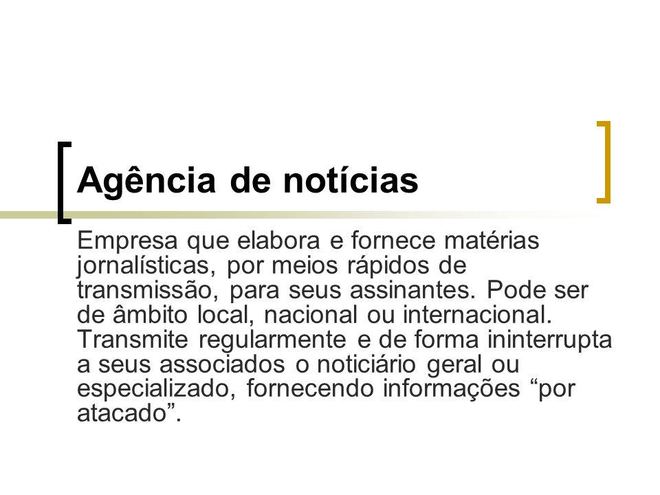 Agência de notícias