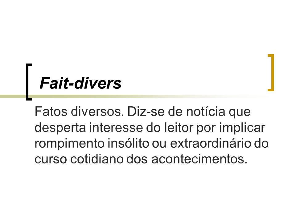 Fait-divers