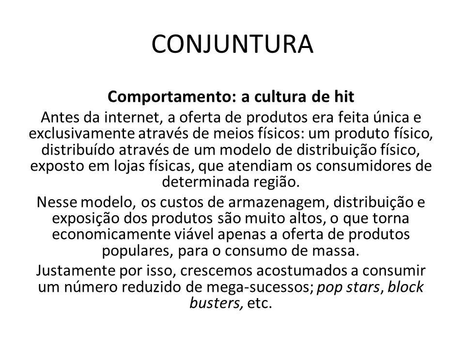 Comportamento: a cultura de hit