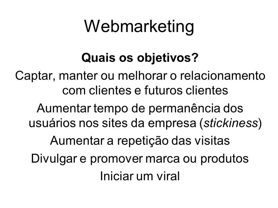 Webmarketing Quais os objetivos