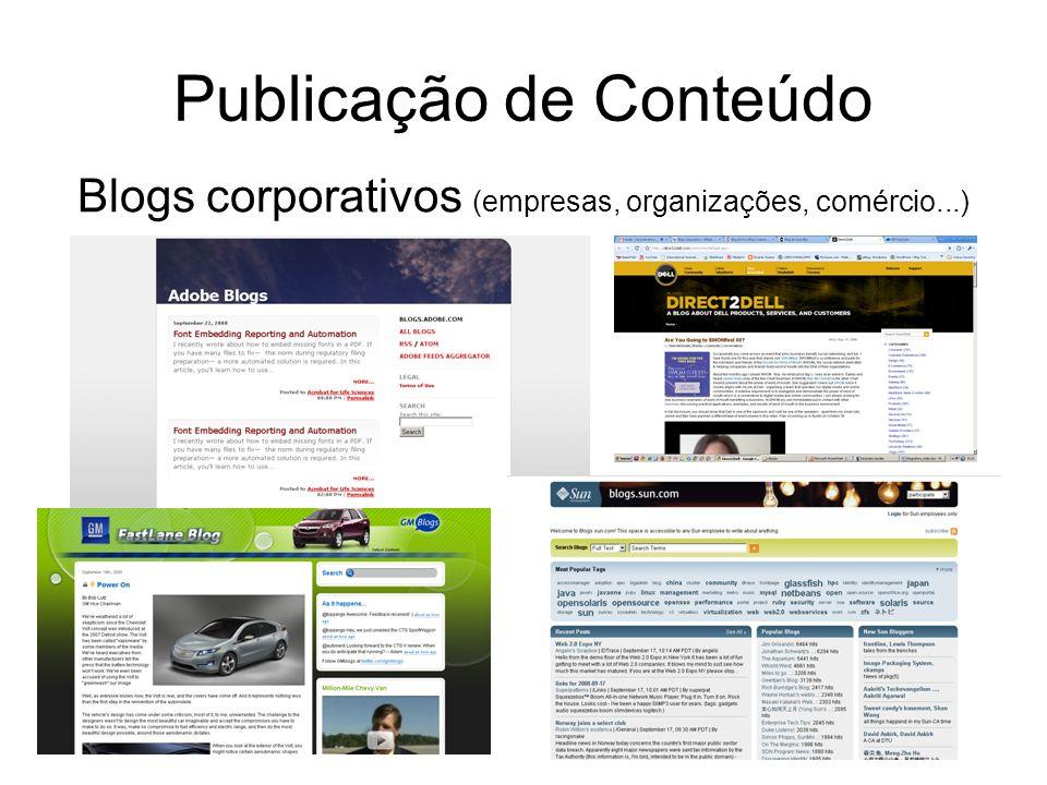 Publicação de Conteúdo
