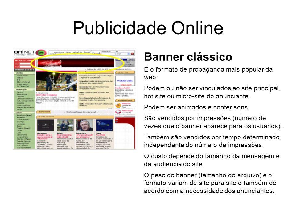 Publicidade Online Banner clássico