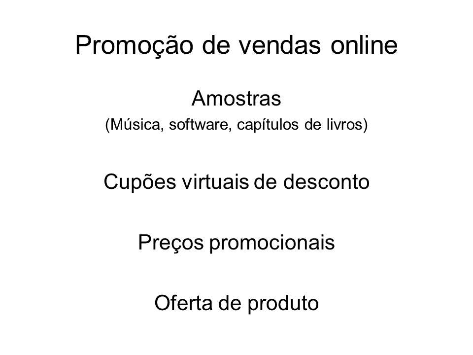 Promoção de vendas online