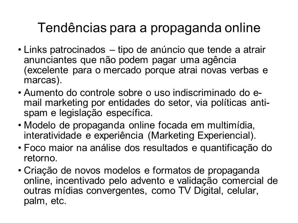 Tendências para a propaganda online