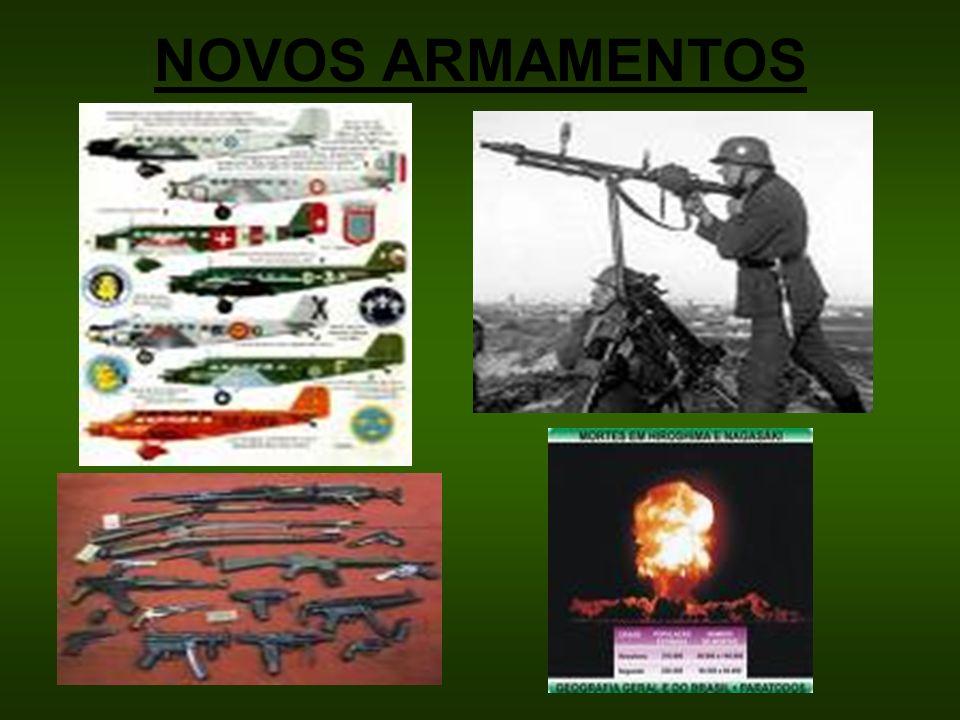 NOVOS ARMAMENTOS