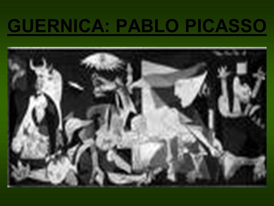 GUERNICA: PABLO PICASSO