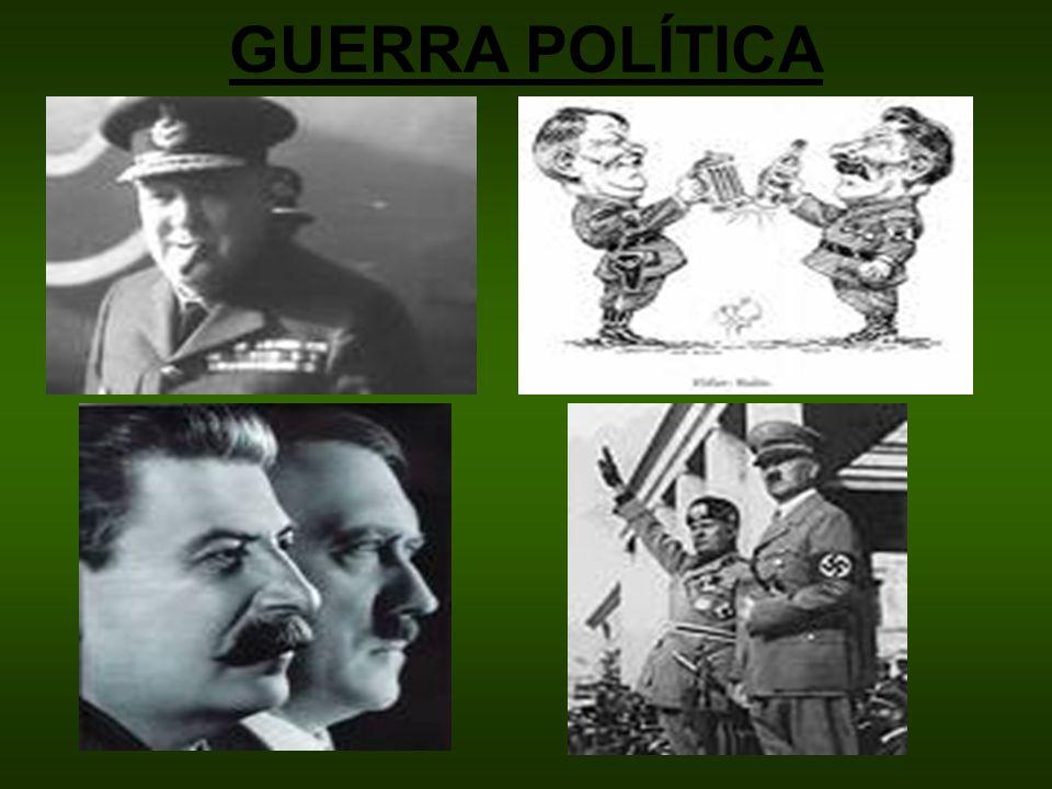 GUERRA POLÍTICA
