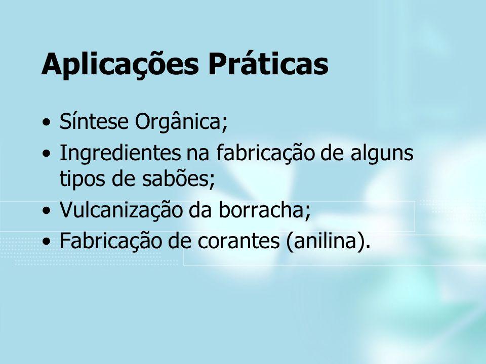 Aplicações Práticas Síntese Orgânica;