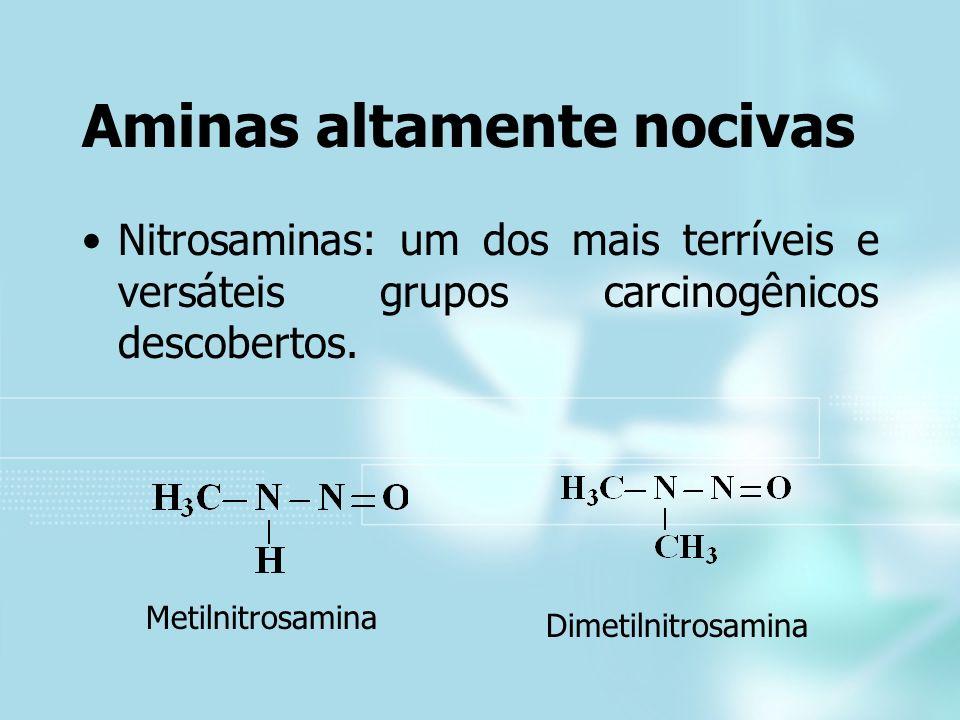 Aminas altamente nocivas