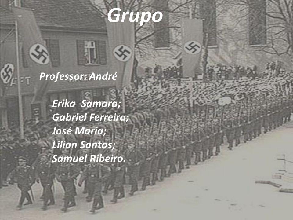 Grupo Professor: André Erika Samara; Gabriel Ferreira; José Maria; Lilian Santos; Samuel Ribeiro.