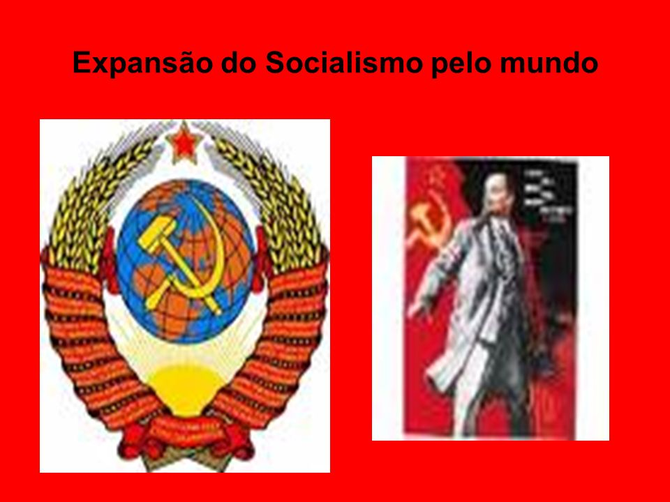 Expansão do Socialismo pelo mundo