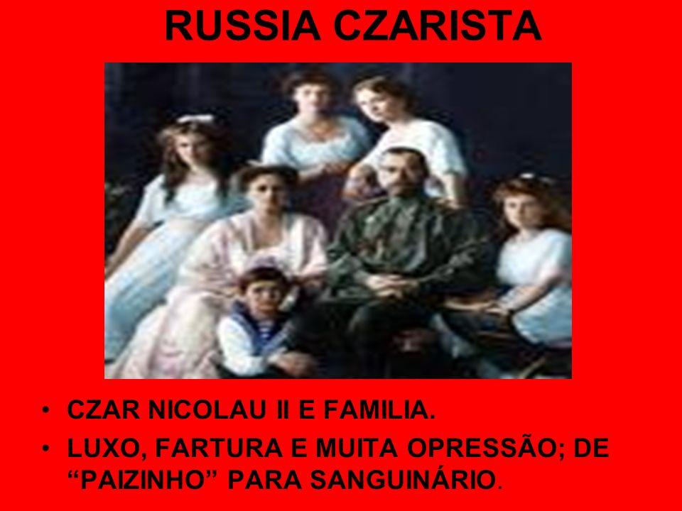RUSSIA CZARISTA CZAR NICOLAU II E FAMILIA.