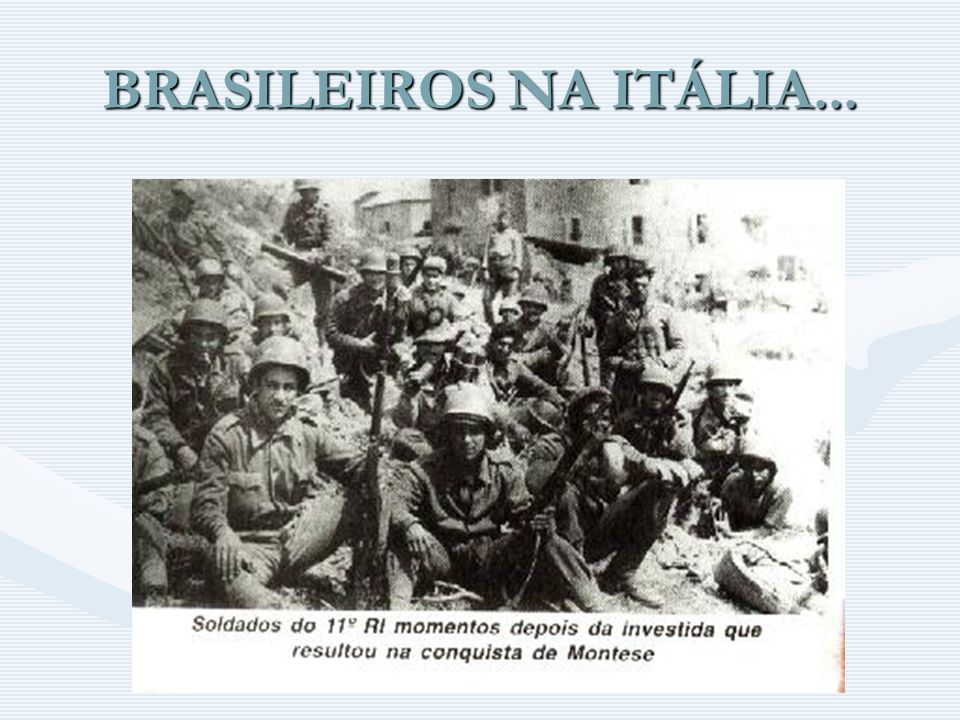 BRASILEIROS NA ITÁLIA...