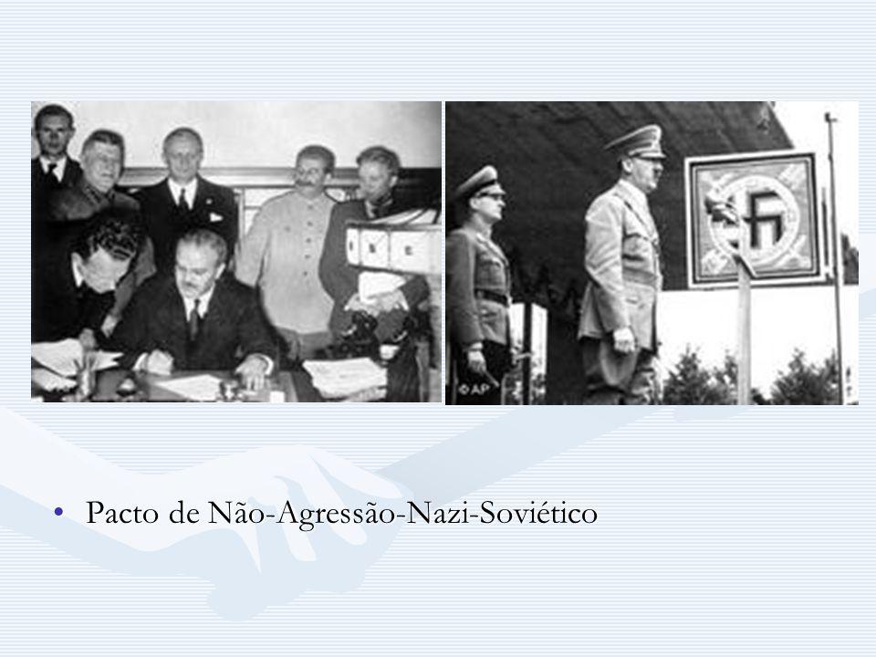 Pacto de Não-Agressão-Nazi-Soviético
