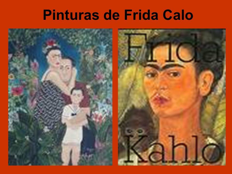 Pinturas de Frida Calo