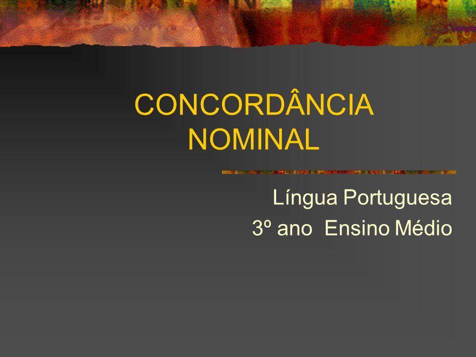 Língua Portuguesa 3º ano Ensino Médio