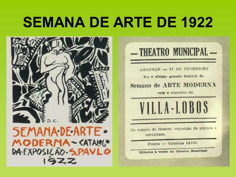 SEMANA DE ARTE DE 1922