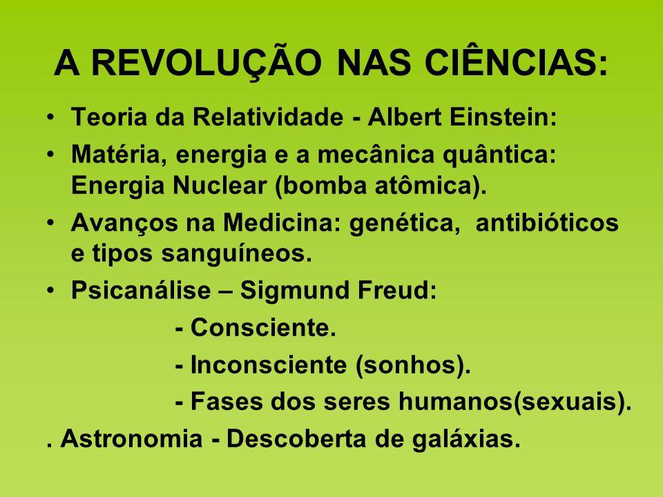 A REVOLUÇÃO NAS CIÊNCIAS:
