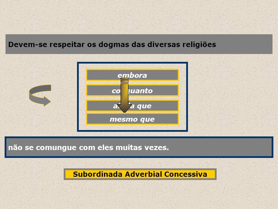 Subordinada Adverbial Concessiva