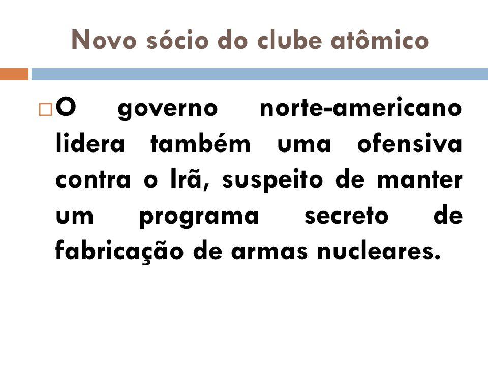 Novo sócio do clube atômico