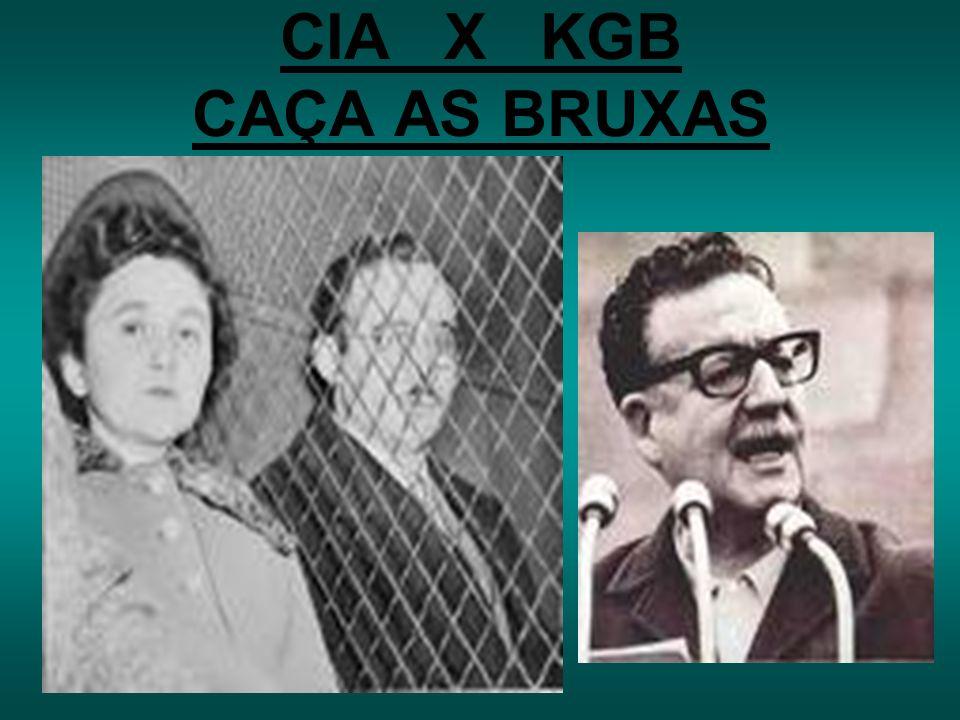 CIA X KGB CAÇA AS BRUXAS