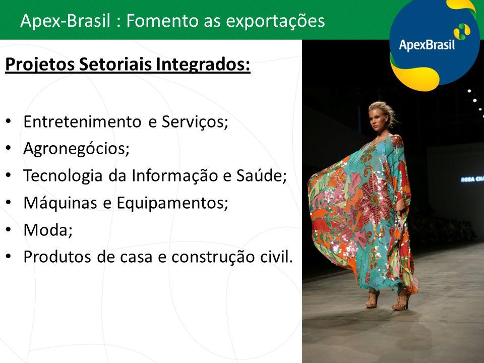 Apex-Brasil : Fomento as exportações