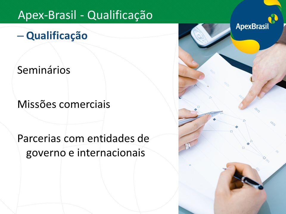 Apex-Brasil - Qualificação