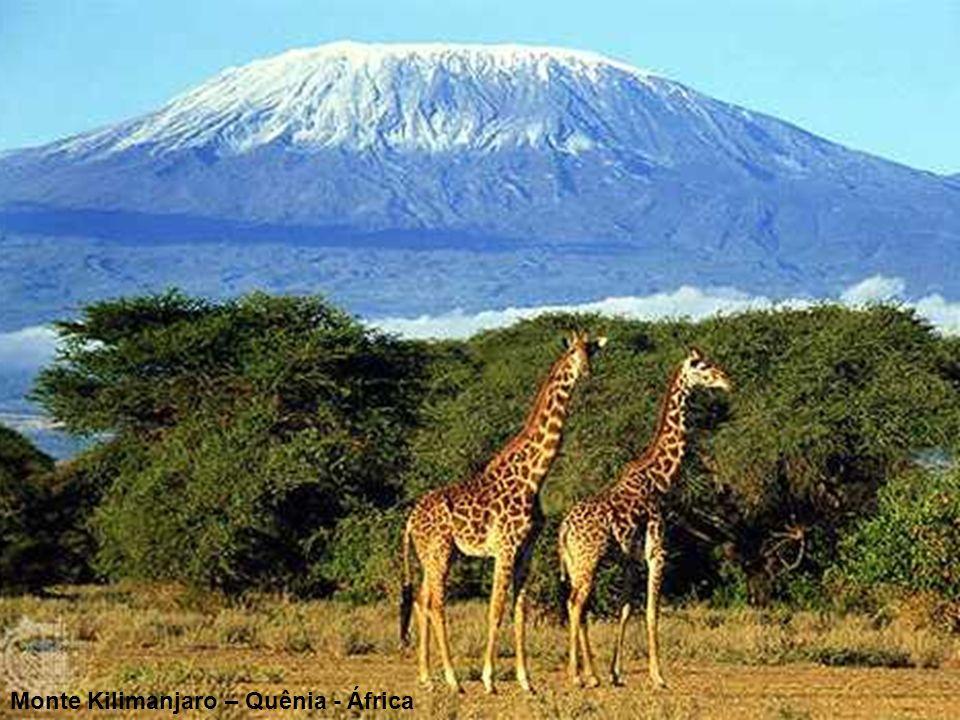 Monte Kilimanjaro – Quênia - África