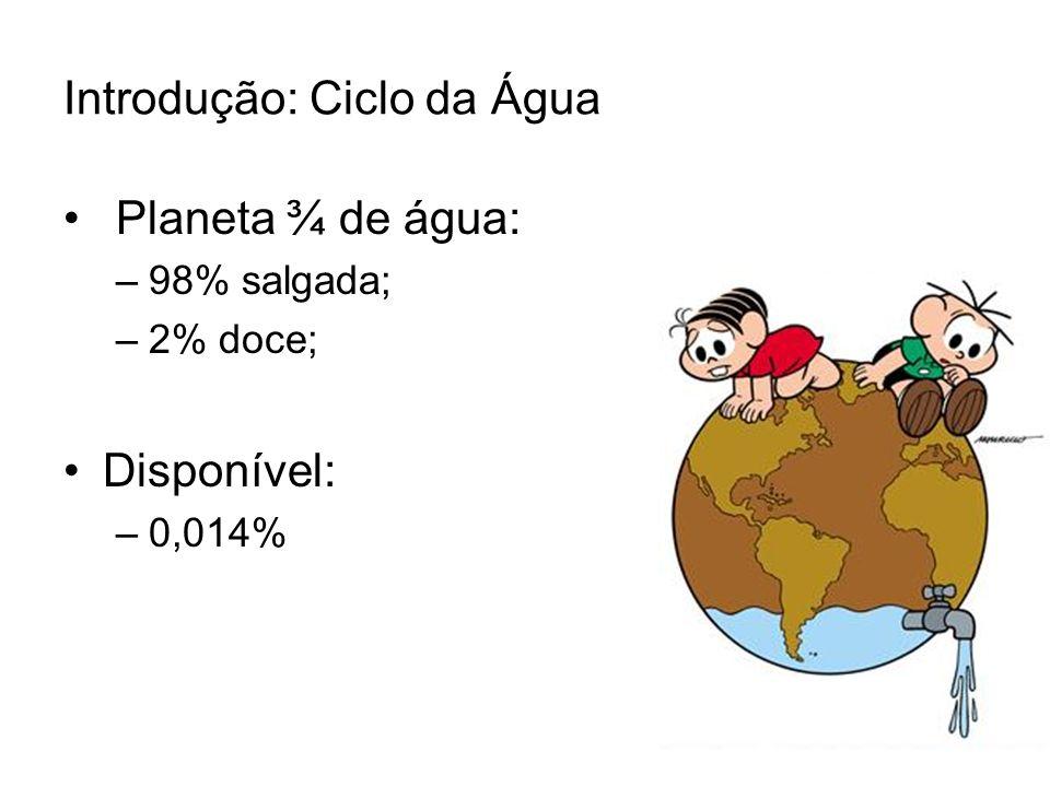 Introdução: Ciclo da Água