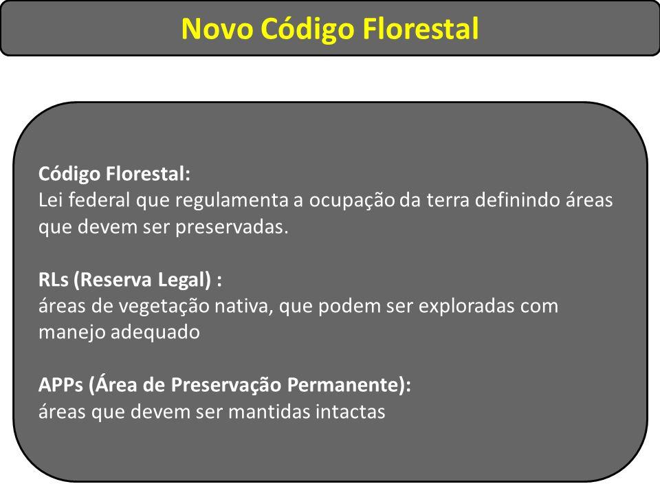 Novo Código Florestal Código Florestal: