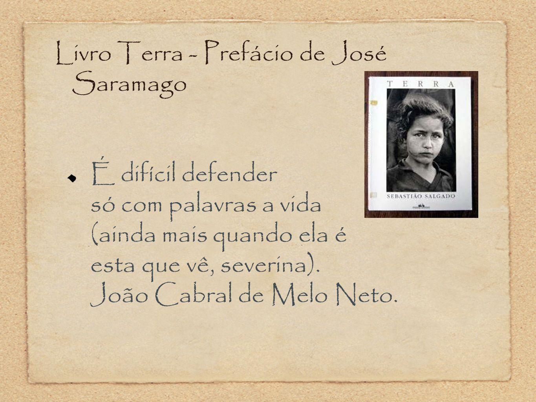 Livro Terra - Prefácio de José Saramago