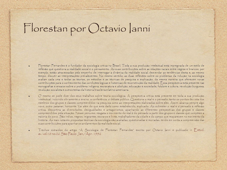 Florestan por Octavio Ianni