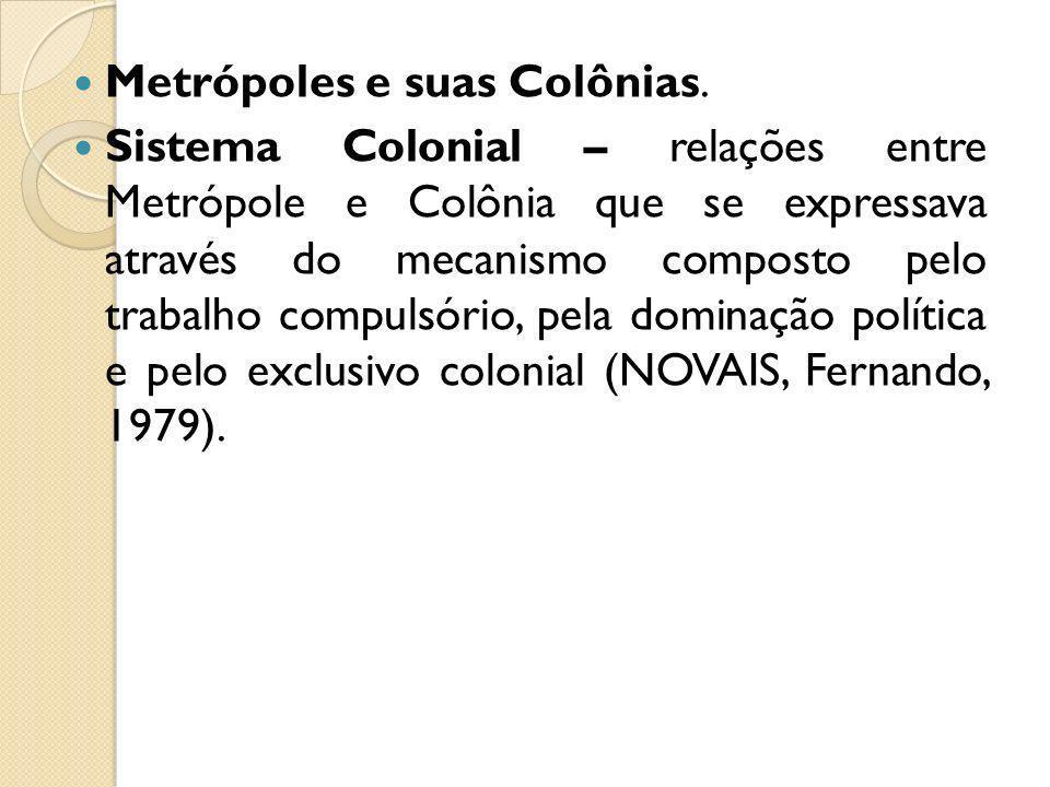 Metrópoles e suas Colônias.