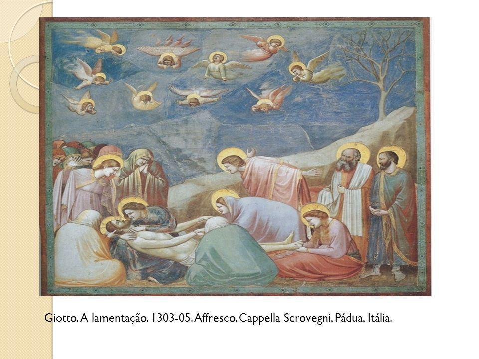 Giotto. A lamentação. 1303-05. Affresco