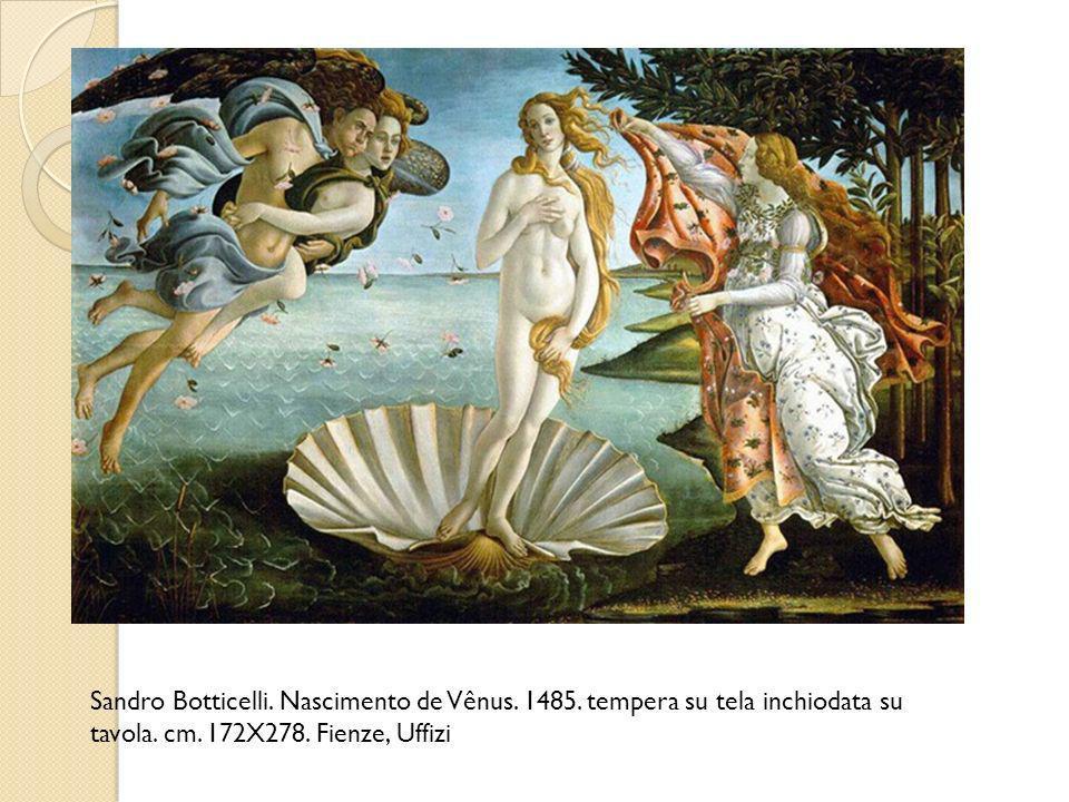 Sandro Botticelli. Nascimento de Vênus. 1485
