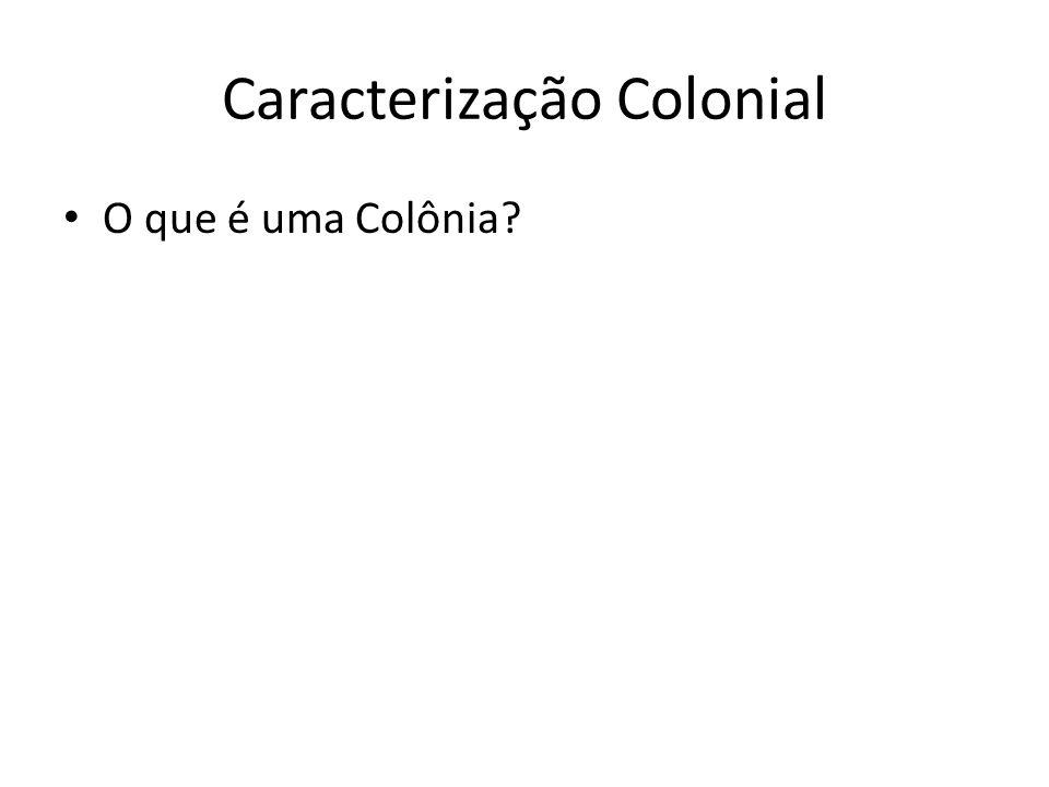 Caracterização Colonial