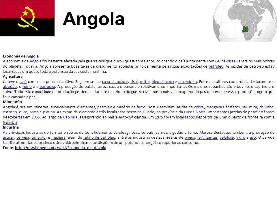 Angola Economia de Angola