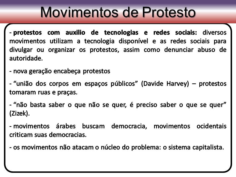Movimentos de Protesto