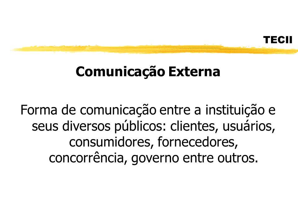 TECII Comunicação Externa.