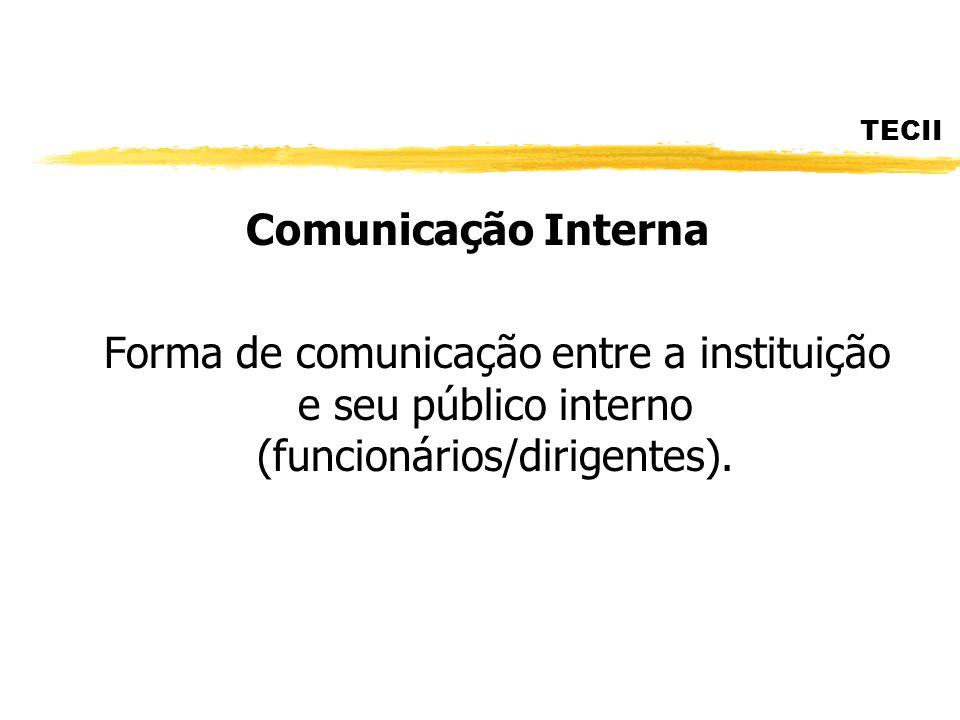 TECII Comunicação Interna.