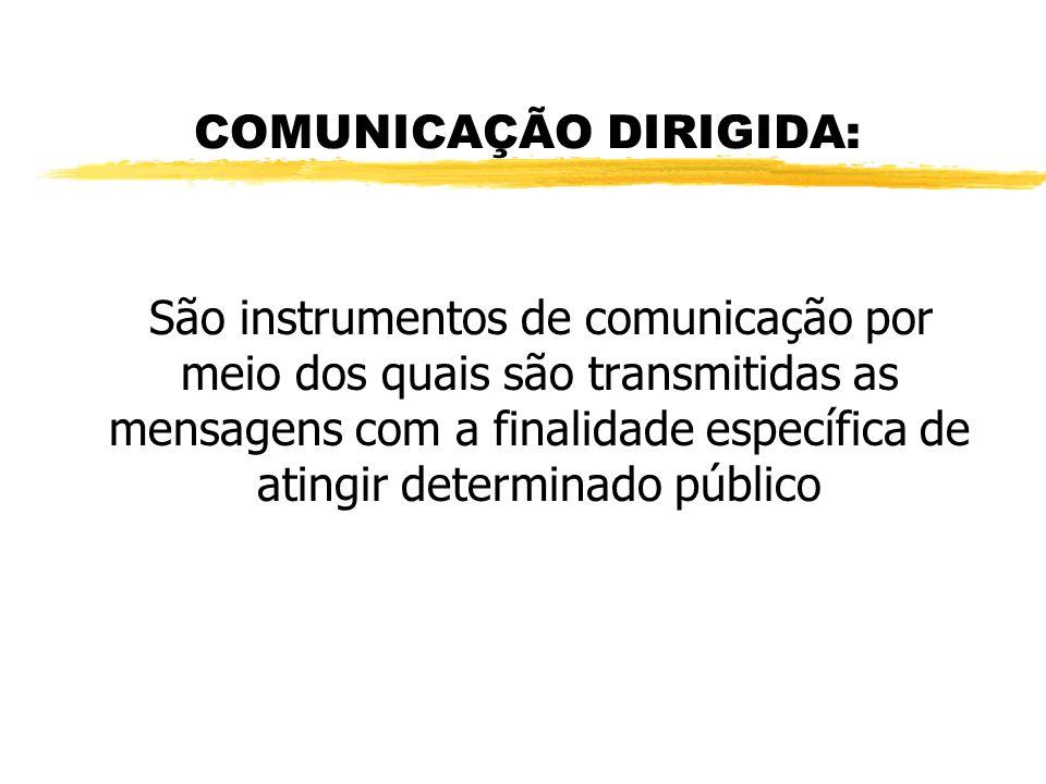 COMUNICAÇÃO DIRIGIDA: