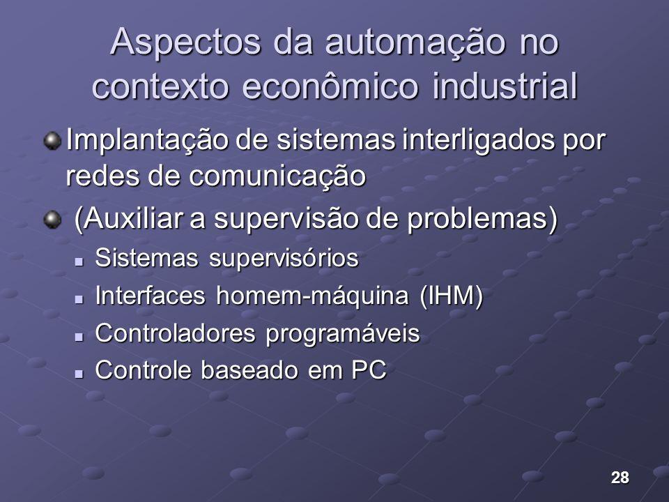 Aspectos da automação no contexto econômico industrial