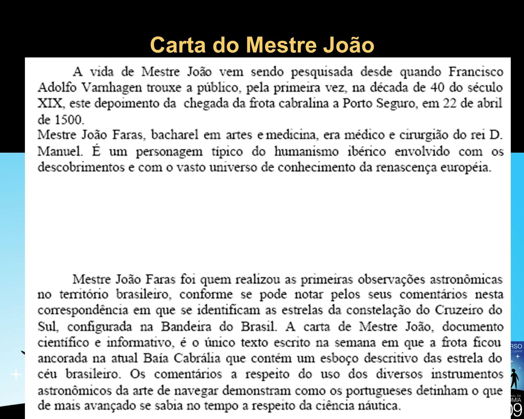 Carta do Mestre João 14