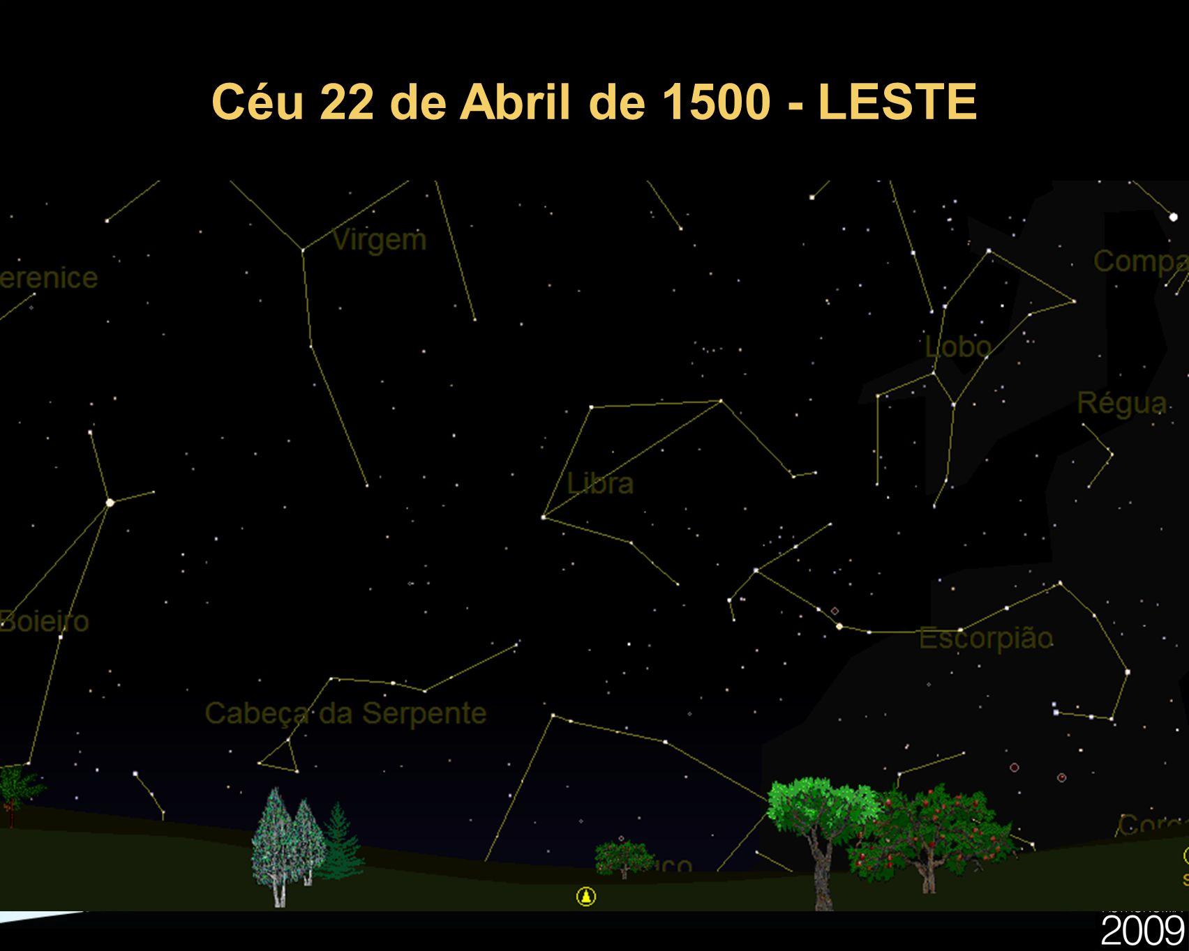 Céu 22 de Abril de 1500 - LESTE 20