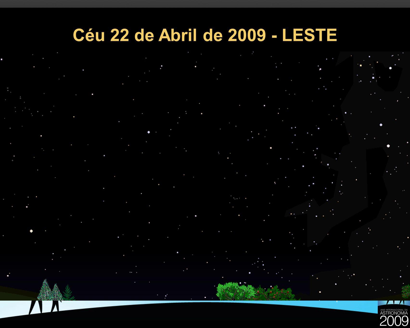 Céu 22 de Abril de 2009 - LESTE 23