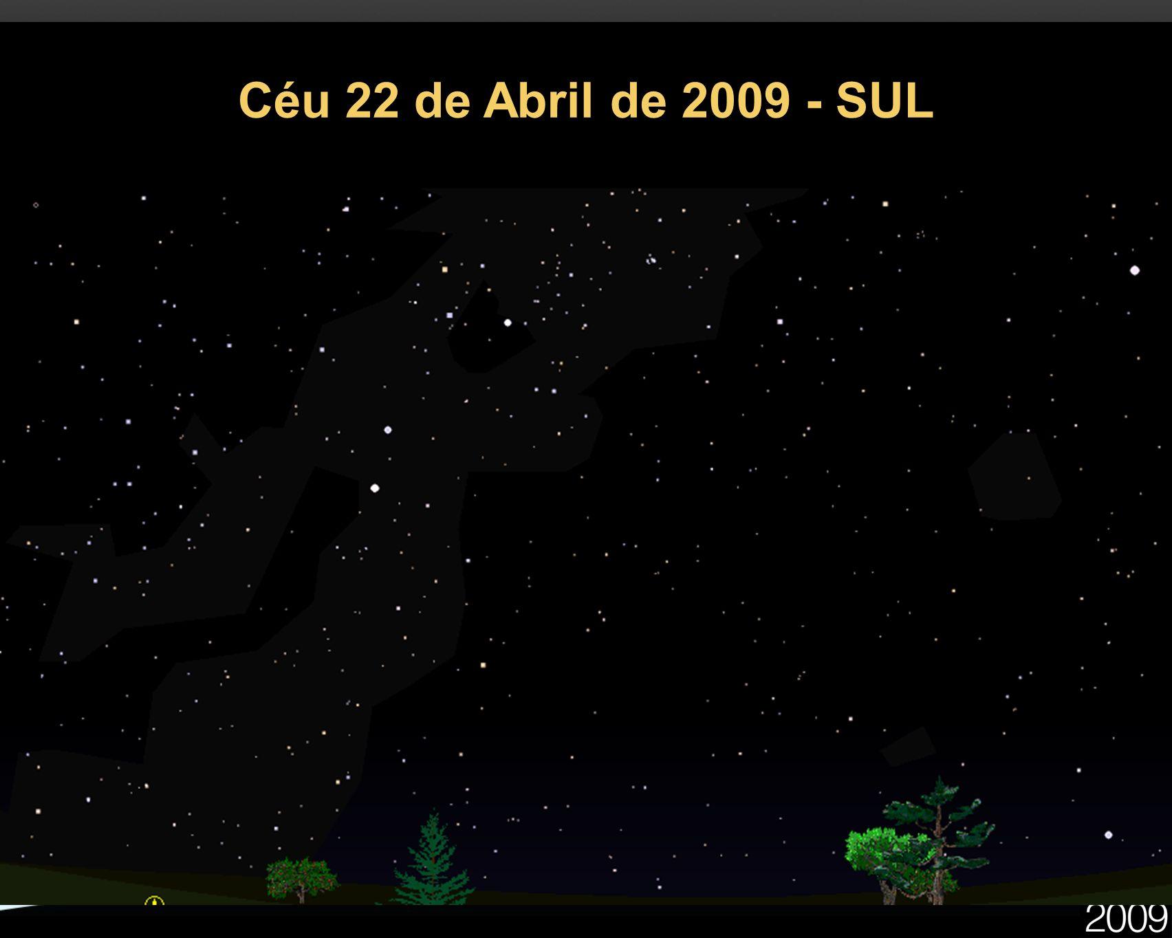 Céu 22 de Abril de 2009 - SUL 27